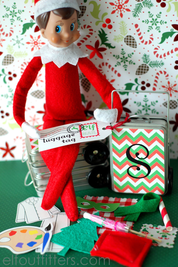 Elf On The Shelf Ideas 10 Fashions Amp Accessories Your