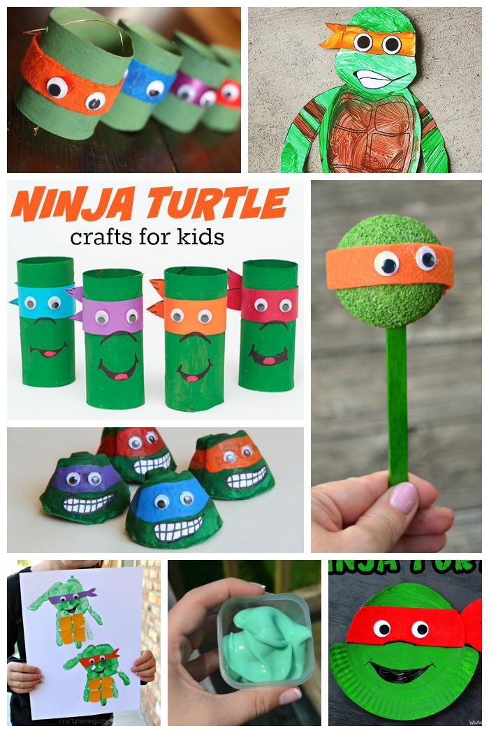 Ninja-Turtle-crafts