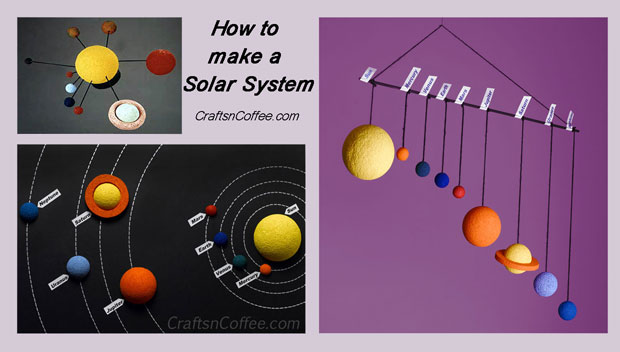 Three tutorials to make a Solar System. CraftsnCoffee.com.