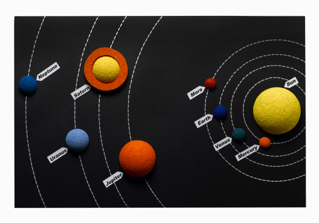 How to make a Solar System Poster using balls of STYROFOAM. Save this one for school! At some point, every student has to make a model of the Solar System.