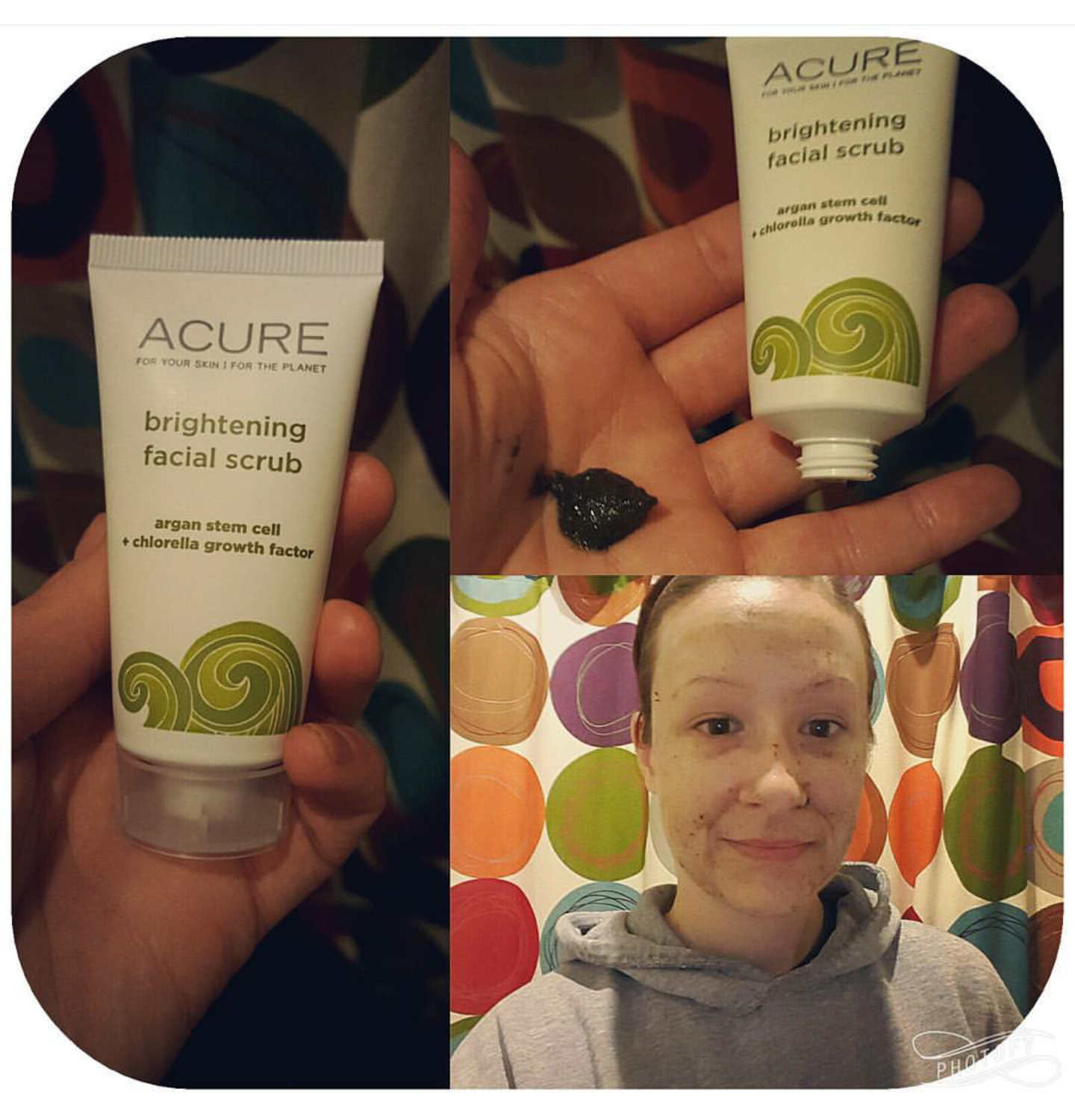 Acure Organics Brightening Facial Scrub Review